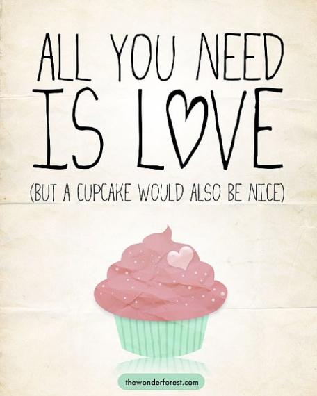 Cupcake Humour Love